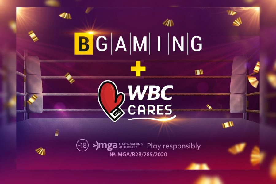 BGaming donates part of the revenue to charity project WBC Cares