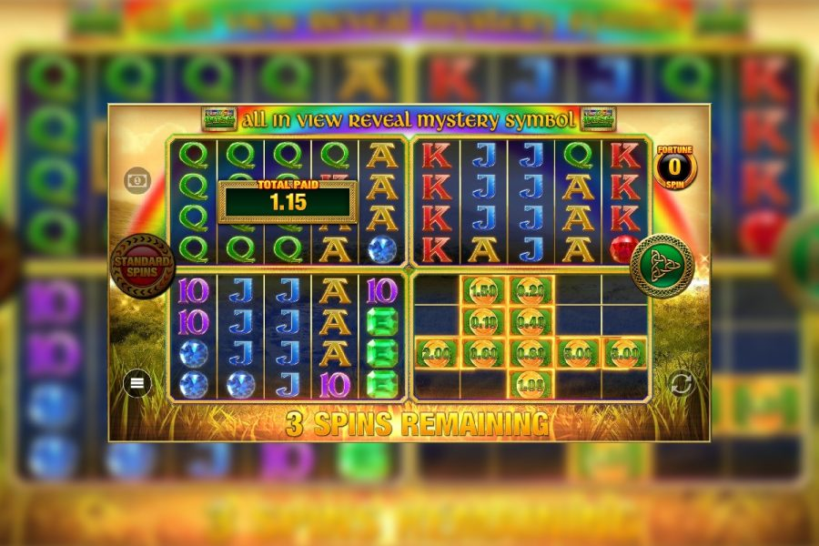 Discover the pot of gold in Blueprint's Luck O' The Irish Fortune Spins 2