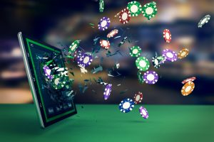 Gambling Commission figures show a decrease in online gambling in May.