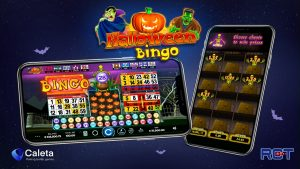 Caleta's Halloween Video Bingo is live and ready to be played