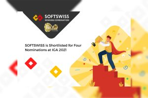 SOFTSWISS solutions were previously shortlisted for EGR B2B and the Global Gaming Awards this year.