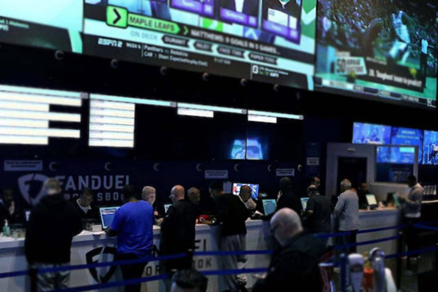 Sports betting performed strongly for Entain in the first half.