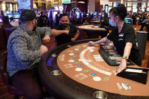 The casino will employ about 500 full and part-time workers.