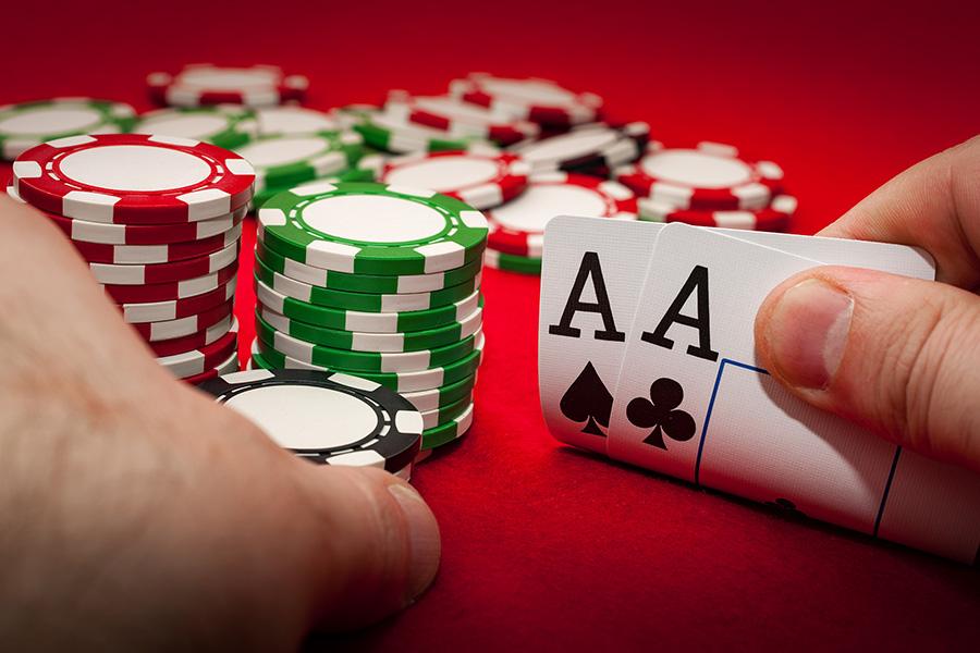 Poker has yet to return at Massachusetts casinos.