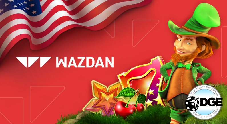Wazdan expands in New Jersey with new slot games