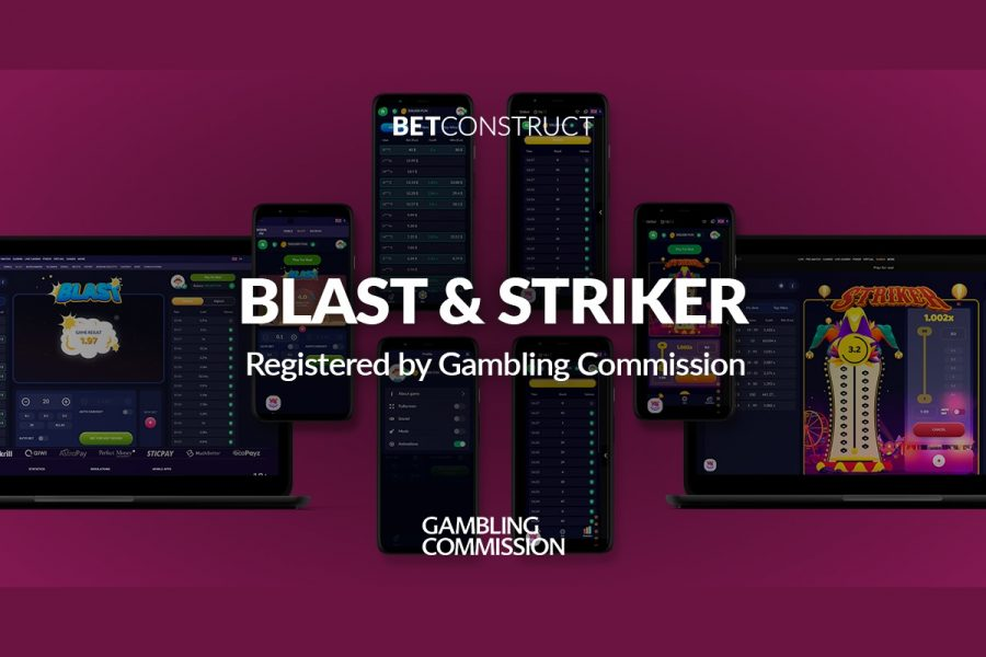 Blast & Strike games are available to UK licensed operators.