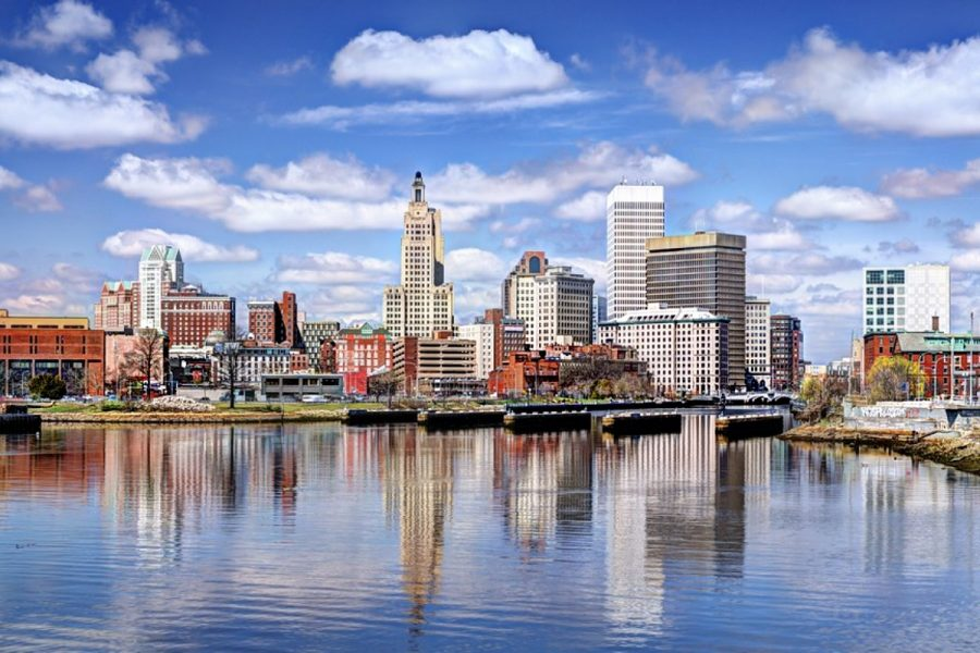 Retail operations in Rhode Island opened in May 2021.