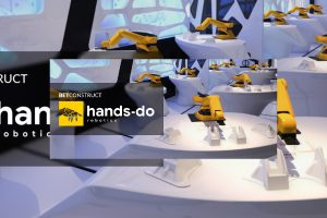 Hands-Do is a robot dealer performing the functions of a real-life croupier.