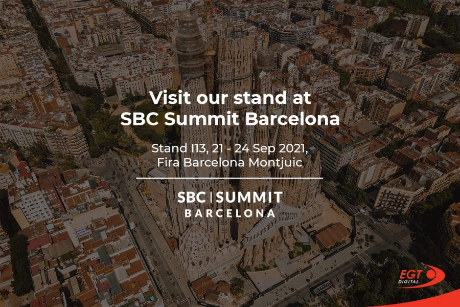 EGT Digital will be available at Stand I13 at the SBC Summit Barcelona.