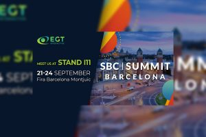 The EGT Interactive team will exhibit at stand i11 at the SBC Summit Barcelona.