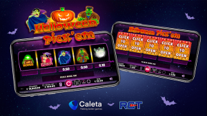 Caleta and RCT have released nine games.