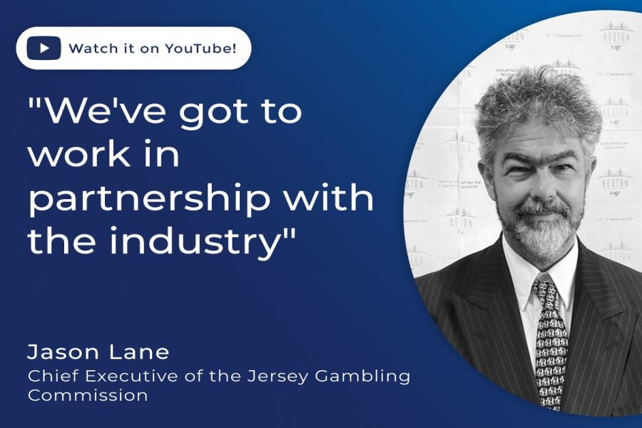 Jason Lane, chief executive of the Jersey Gambling Commission.