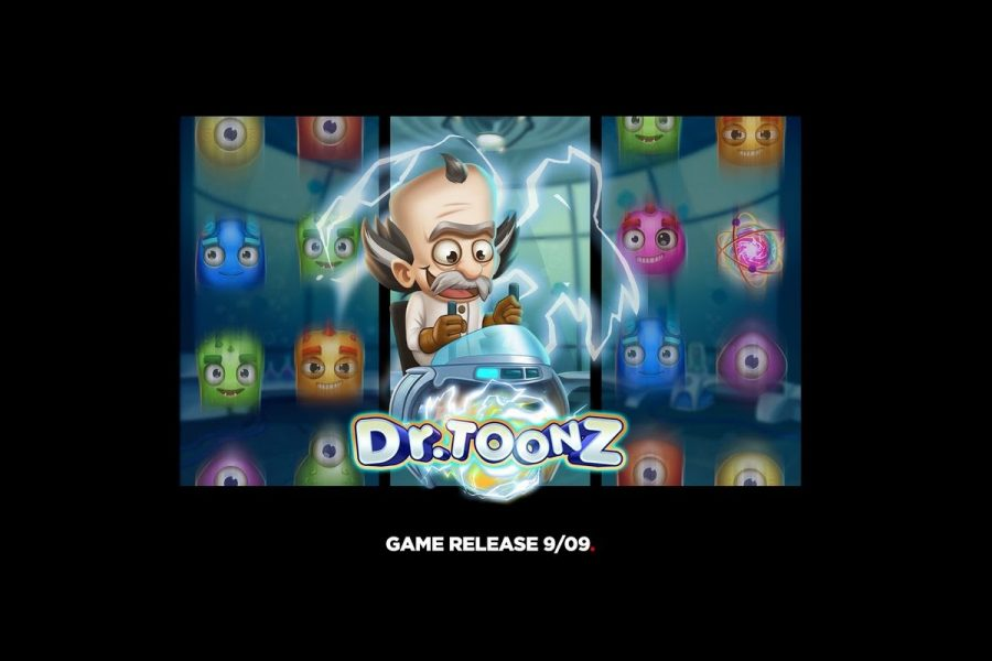 Dr Toonz is a 6x4 cascading Dynamic Payways slot game
