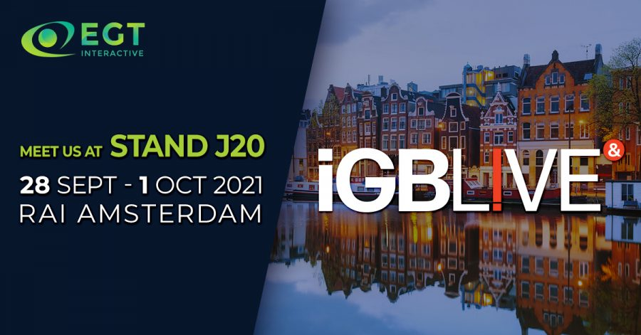 EGT Interactive will exhibit at iGB Live as GOLD Sponsor
