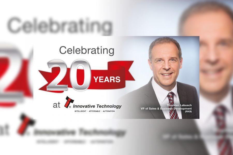 Thorsten Labusch, VP of Sales & Business Development.